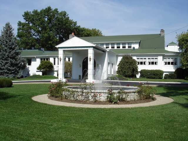 A view of the clubhouse at Western Hills Country Club
