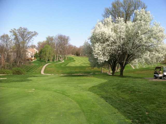 A spring view from Stillmeadow Country Club