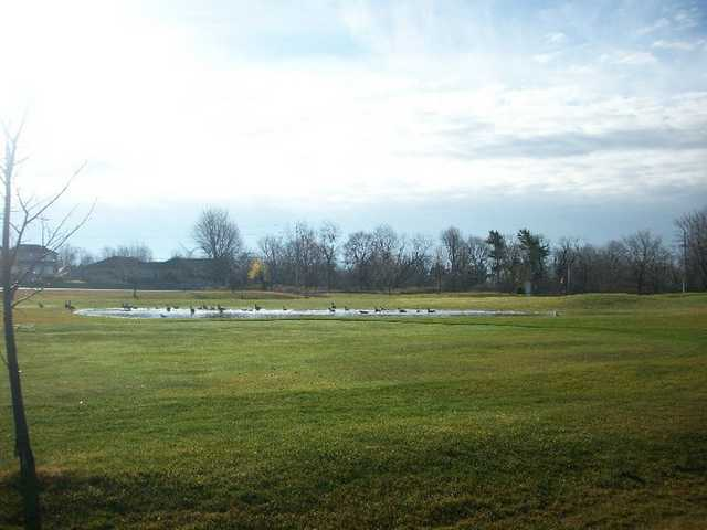 A view of the 8th fairway at Landings Golf Course