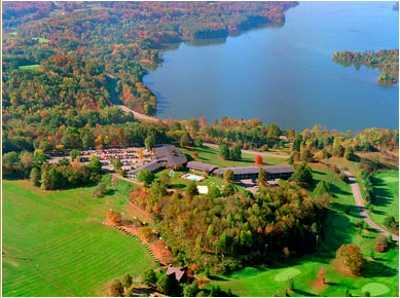 Aerial view from Atwood Lake Resort Golf Course