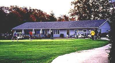 A view of the clubhouse at Ironwood Golf Course