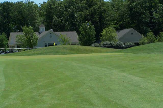 A view of green at Hidden Creek Golf Club