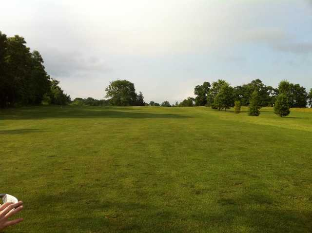 A view from the 17th fairway at Cardinal Hills Golf Course