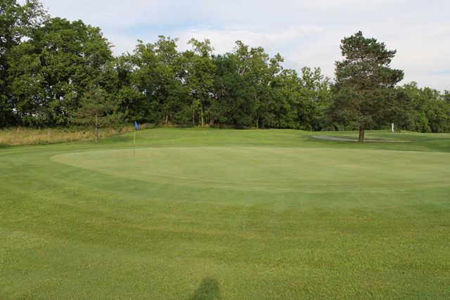 A view of the 13th hole at Longview Golf Course