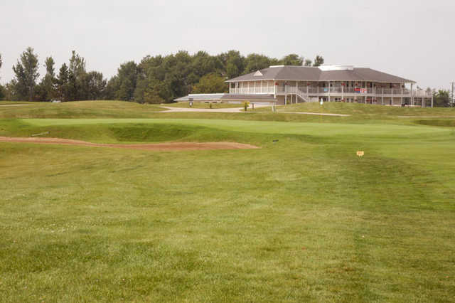 A view of the 13th hole at Kearney Hill Golf Links
