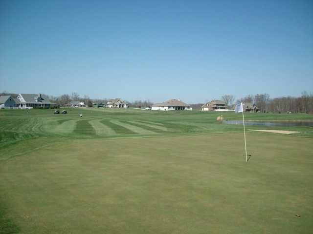 A view of the 14th hole at Eagle Trace Golf Course