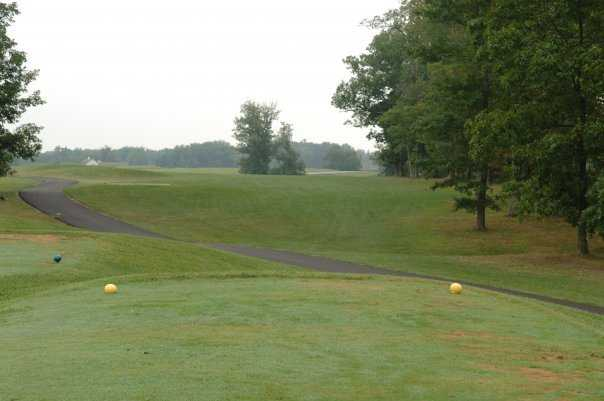 A view from tee #11 at Eagle Trace Golf Course