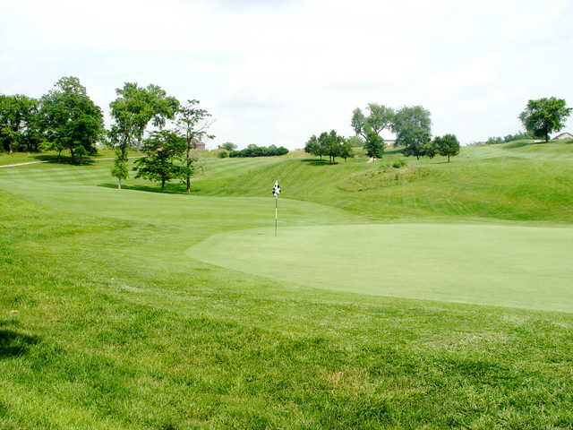 A view of hole #11 from Boone's Trace National GC