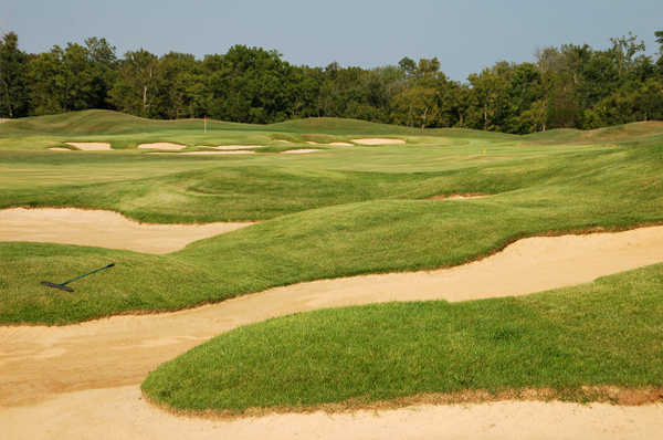 A view of the 10th hole at Heritage Hill Golf Club