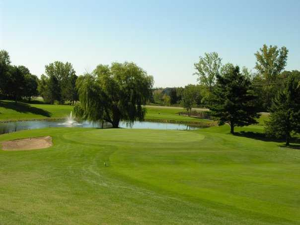 A view of hole #10 from Elk River Golf Club