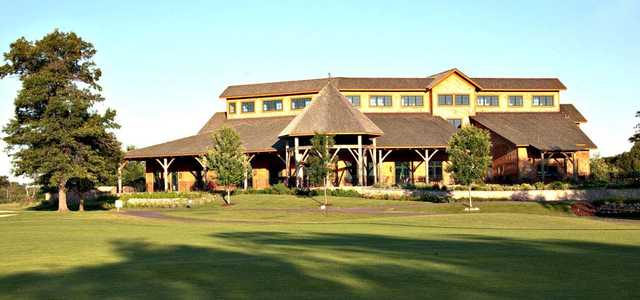 A view of the clubhouse at Refuge Golf Club