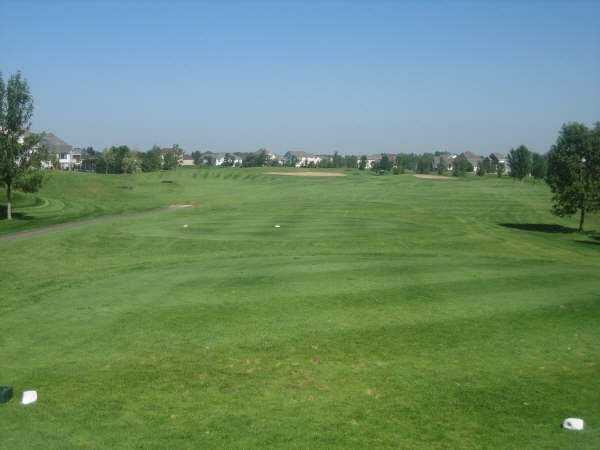 A view from tee #7 at Oak Marsh Golf Course