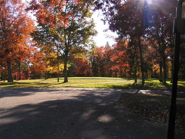 A sunny fall view from Headwaters Golf Club