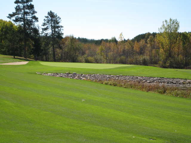 A view of a hole at Headwaters Golf Club