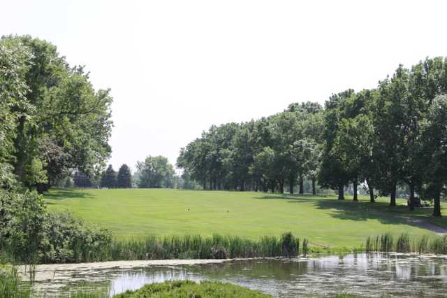 A view from Lost Spur Golf Course