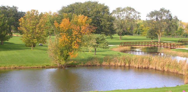 A view from Vernon Hills Golf Course.