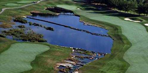 Aerial view from Seneca Hills Golf Course