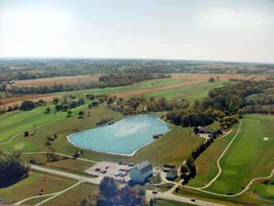 Aerial view from Hidden Lake Golf Course