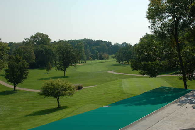 A view from tee #1 at Troy Country Club