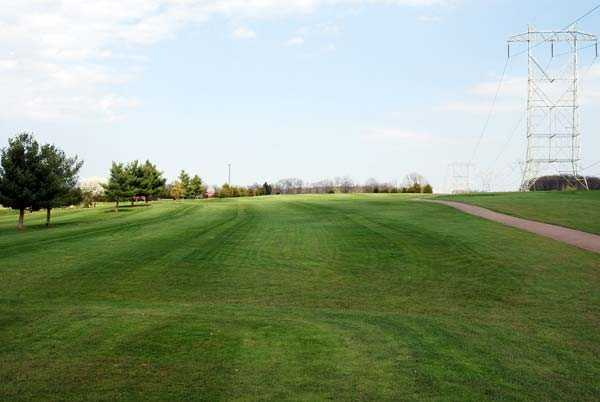 A view from the 2nd tee at Par Line Golf Course