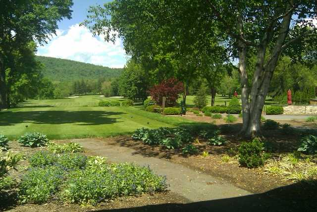 A view from Blue Ridge Country Club