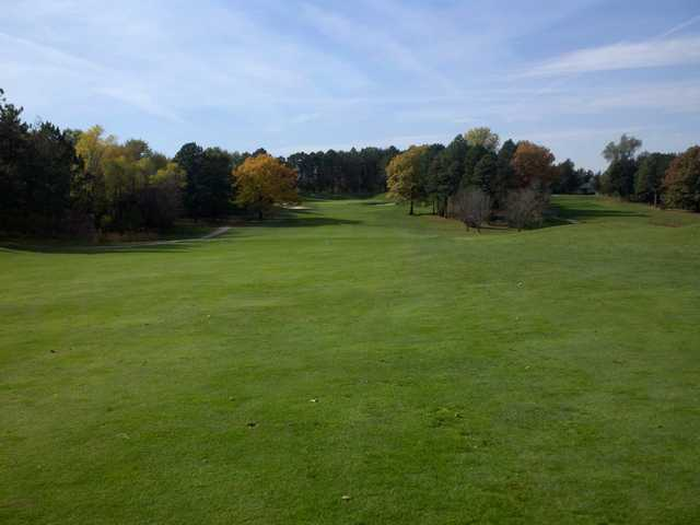 A view of fairway #2 at Woodland Hills Golf Course.