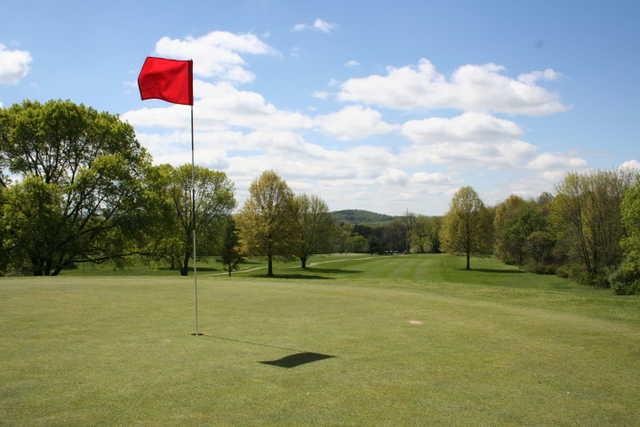 A view of green at Kimberton Golf Club