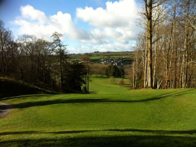A view from tee #8 at Castlecomer Golf Club