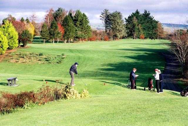 A fall view from tee at Kilkenny Golf Club