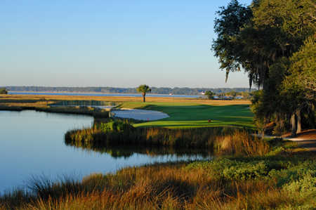 View from 17th at Harbour Town Golf Links at Sea Pines Resort