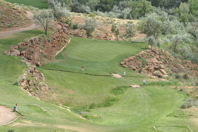 A view of green at Roosevelt Golf Course