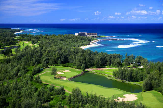Palmer Course at Turtle Bay: View from #18