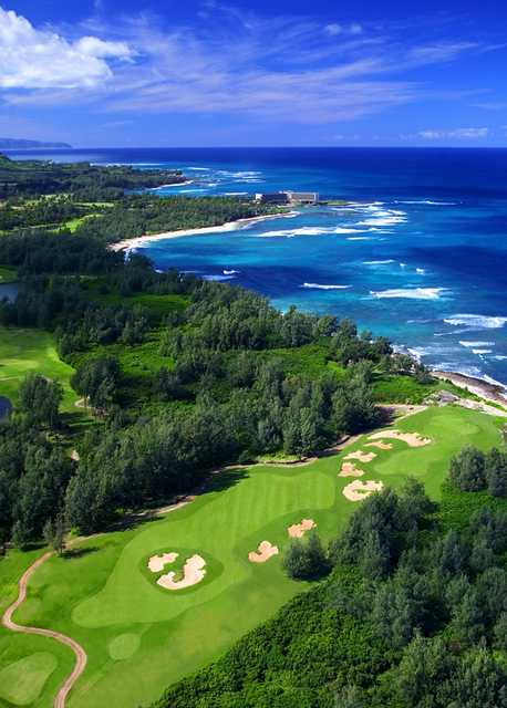 Palmer Course at Turtle Bay: View from #17