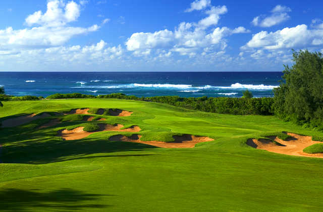 Sea view from Palmer Course at Turtle Bay