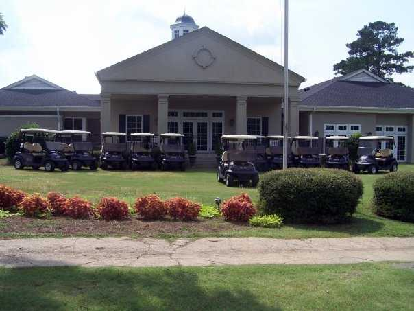 A view of the clubhouse at Darlington Country Club