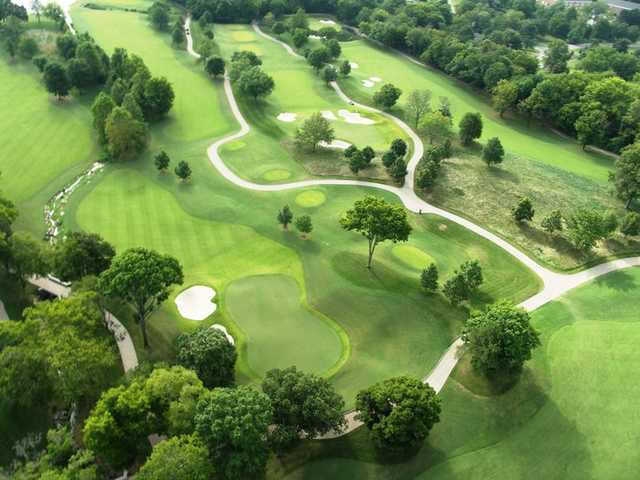 Aerial view from Richland Country Club