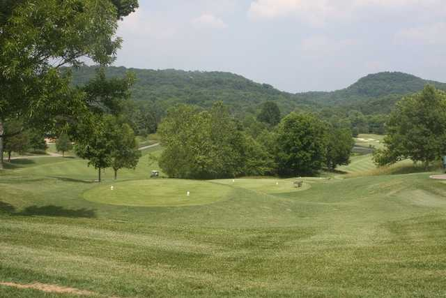 A view of tee at Richland Country Club