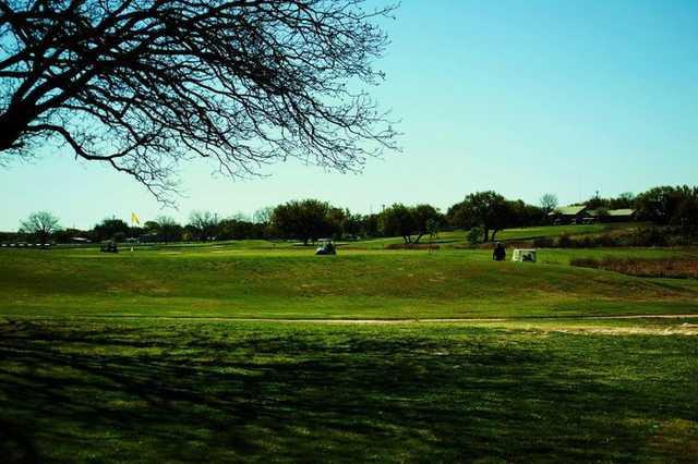 A view from Concho Springs Golf Course