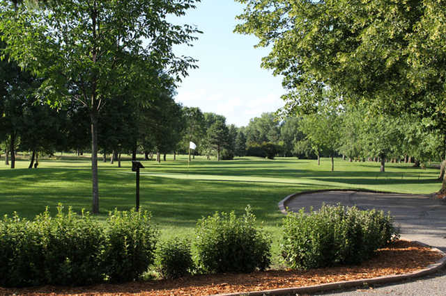 A view of hole #18 at Glencoe Country Club