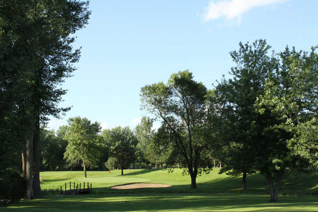 A view of the 8th hole at Glencoe Country Club