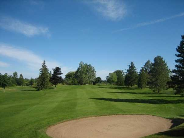 A view of the 13th hole at 18-hole Course from Goderich Sunset Golf Club