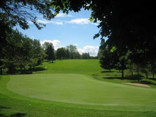 A view of green at Goderich Sunset Golf Club