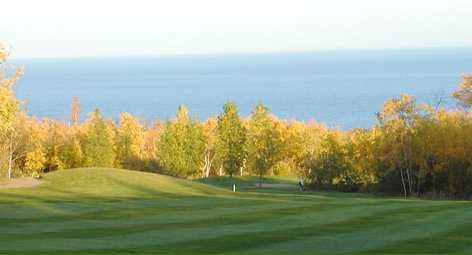 A view of fairway at Lester Park Golf Course