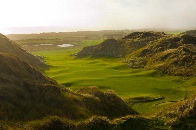 A view from Trump International Golf Links