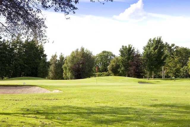 A view of the 5th hole at Castlewarden Golf Club