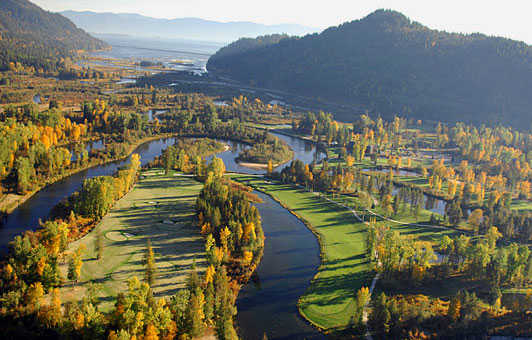 Aerial view from Idaho Club