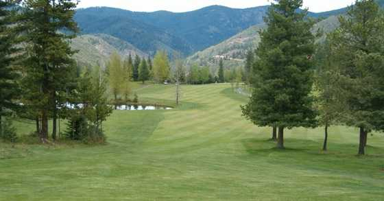 A view of fairway at Shoshone Golf & Tennis Club