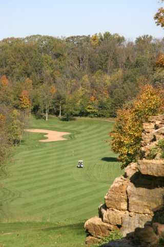 A fall view from Summit Golf Club