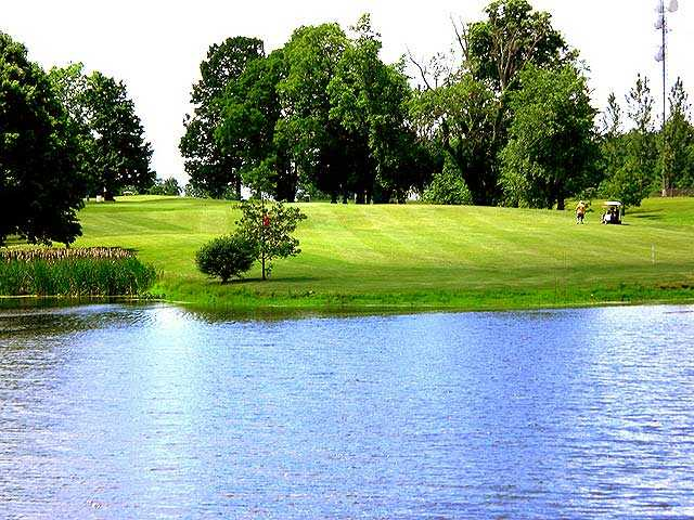 A view over the water from Turkey Run Golf Club