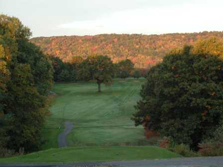 A view from tee #12 at Agawam Municipal Golf Course